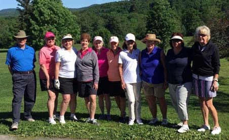 Stafford Golf Womens Class of June 11, 2017